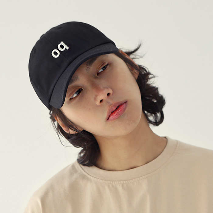 oq Ball cap Black (Unisex)