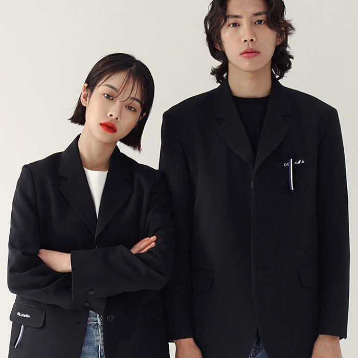 Tie Blazer jacket (Couple) 5% Sale