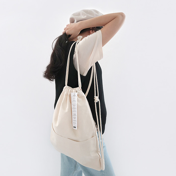 Label Canvas bag (Woman)