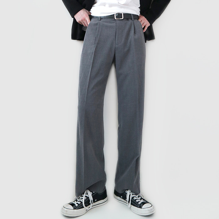 Pin tuck slacks (Men)