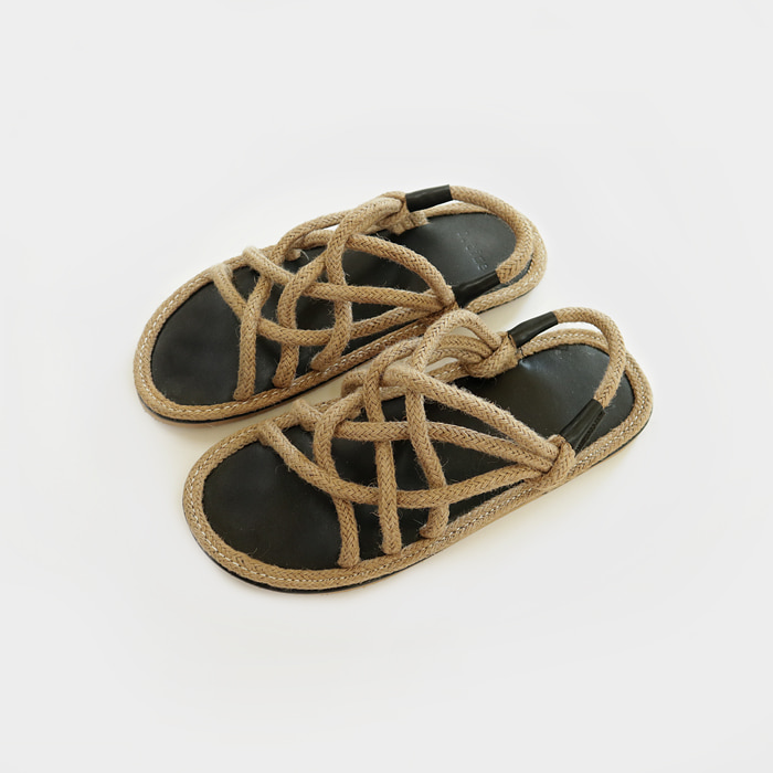 Wood straw shoes (Men)