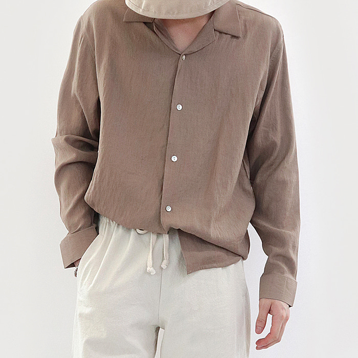 Summer linen shirt (Men)