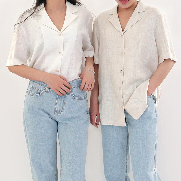 Summer linen shirt (Woman)